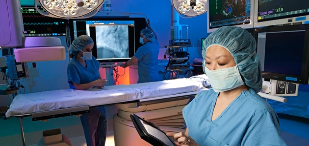 Innovation…The region's first Transcatheter Aortic Valve Replacement performed July 2012 at Baystate Medical Center.
