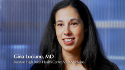 Gina Luciano, MD video
